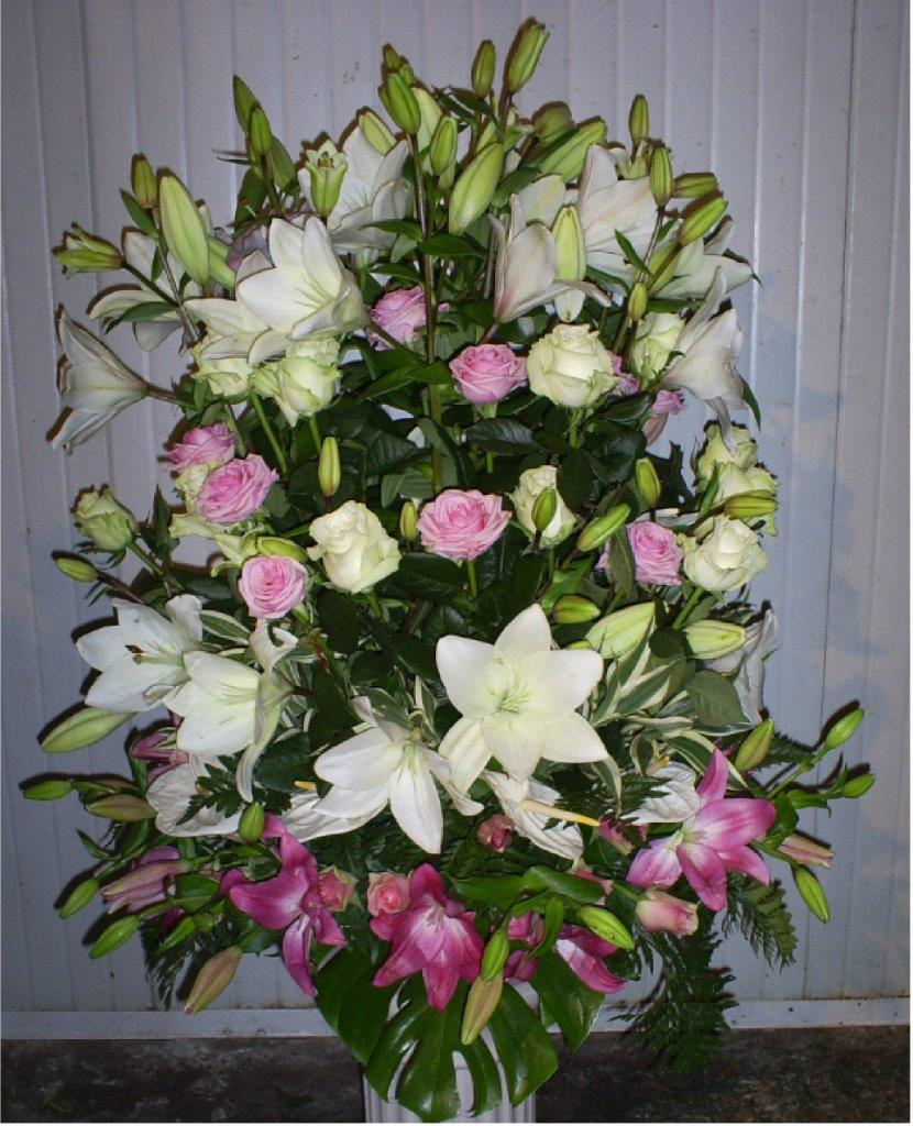 Souvent Composizioni floreali funebri - Impresa funebre Lucarda LV22