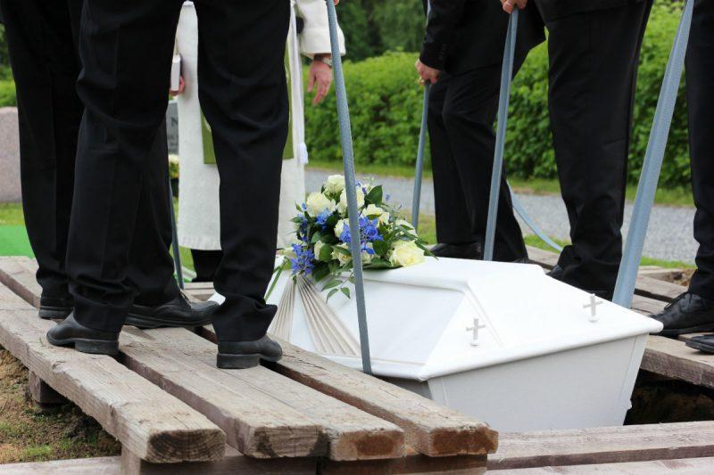 Pratiche per la sepoltura
